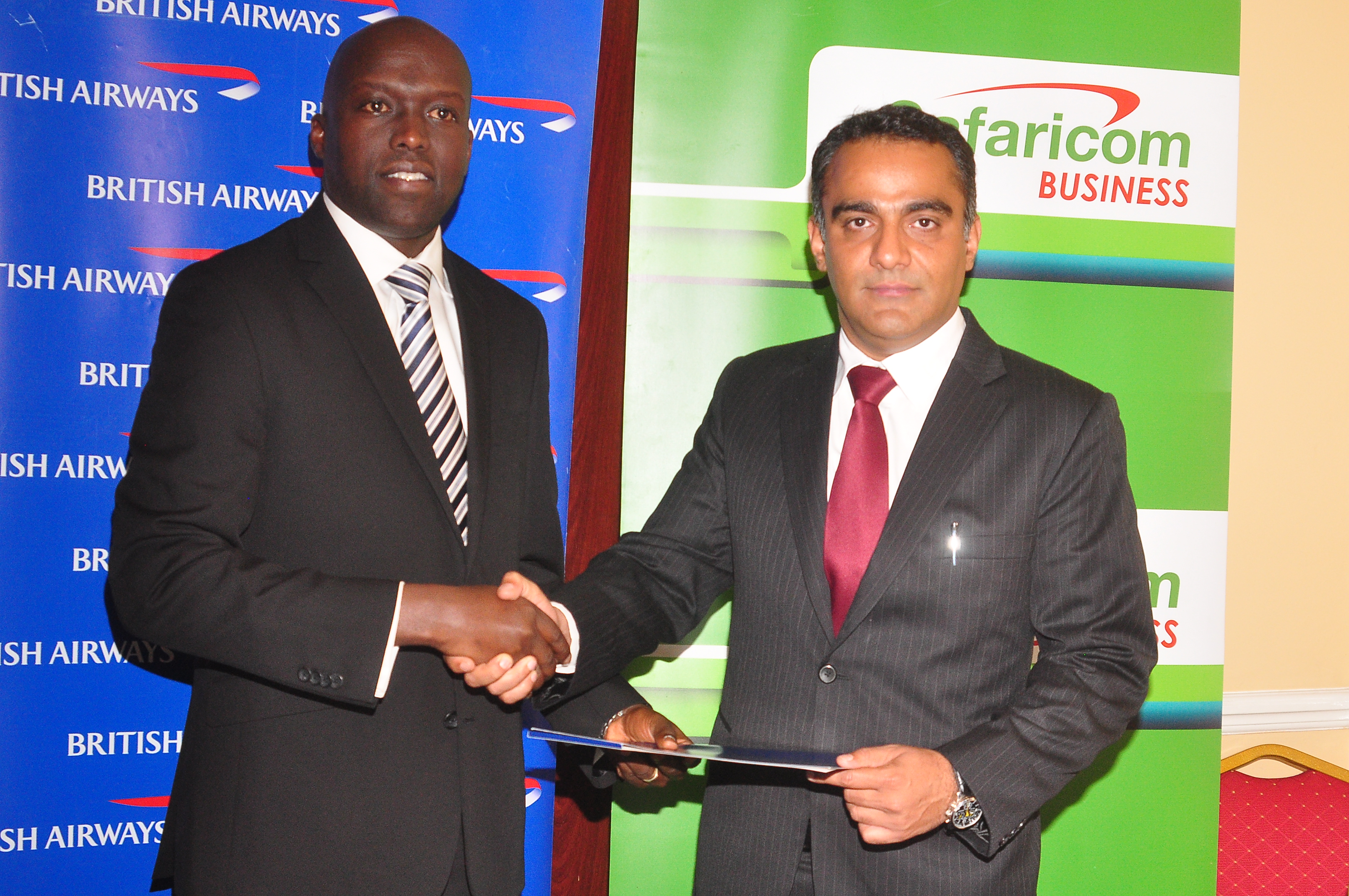 British Airways and Safaricom launch initiative for SME growth