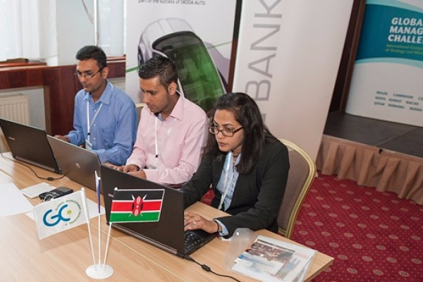 Kenyan Universities battle for a slot in the Global Management Challenge