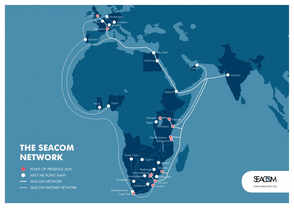 Seacom extends support for innovation in East Africa