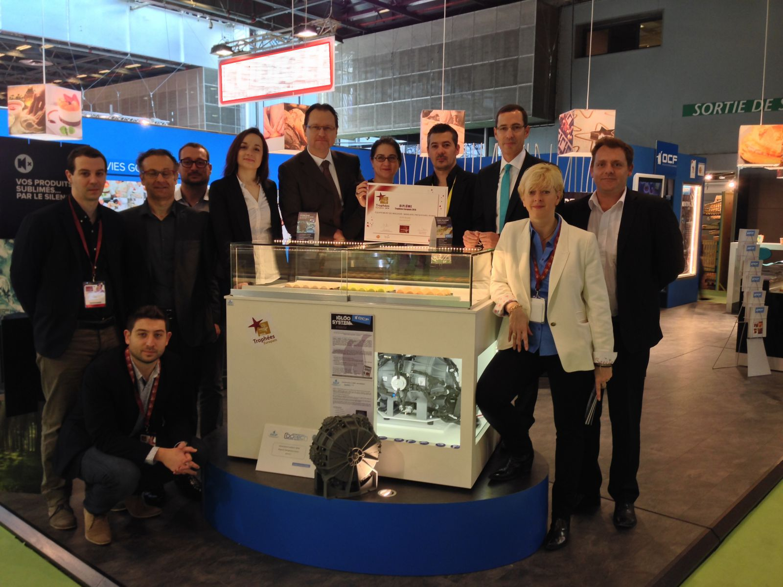First magnetic cooling system for commercial refrigeration is launched