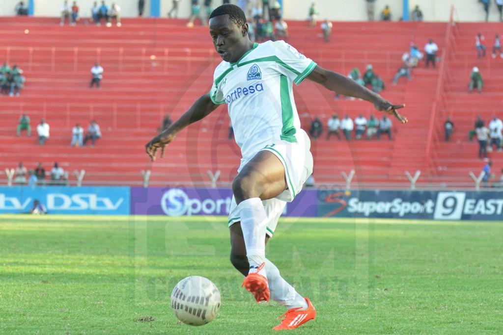Gor Mahia defender, Eric Ouma