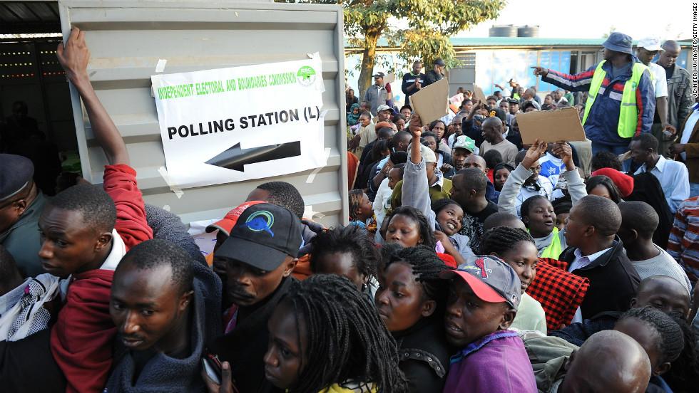 Image result for kenyans elections