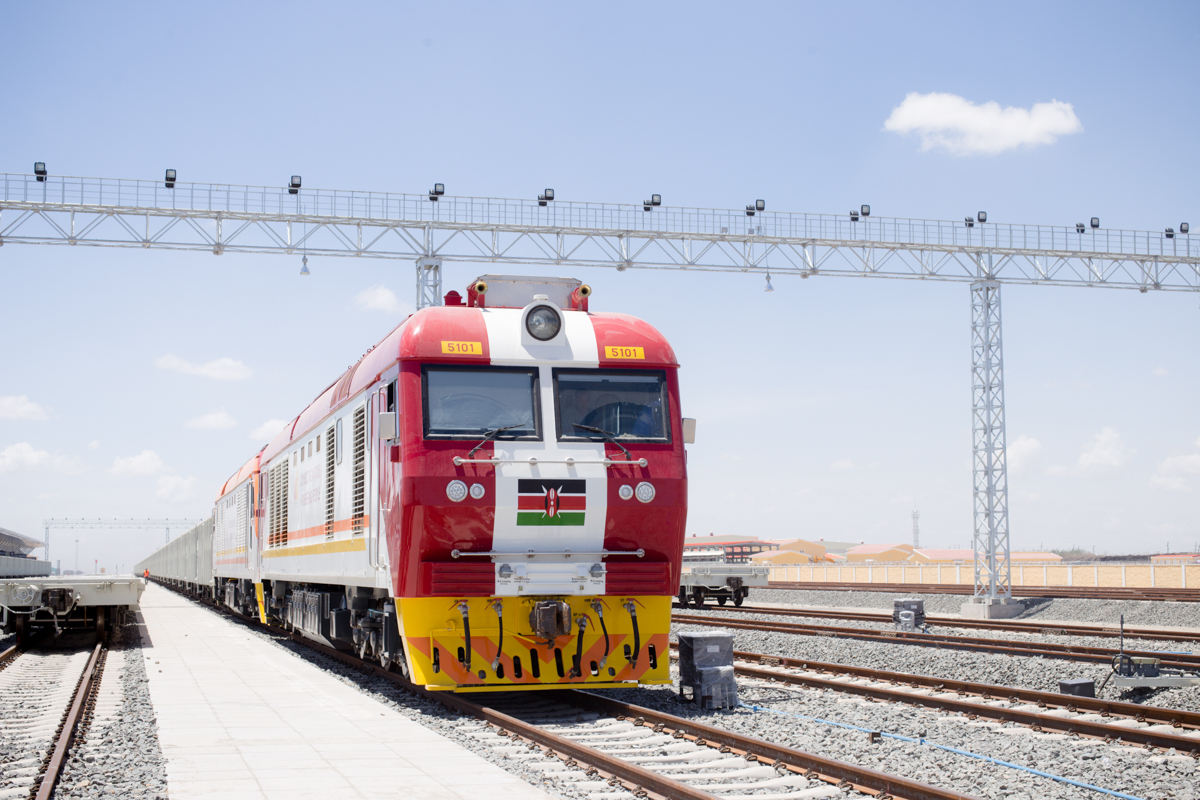 Rail transport epitomises Kenya's growth historically, and continuous evolution