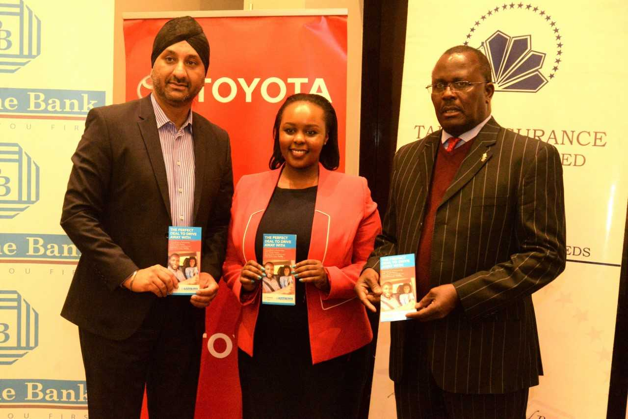 Toyota Kenya partners up with Prime Bank to promote purchase of brand new vehicles