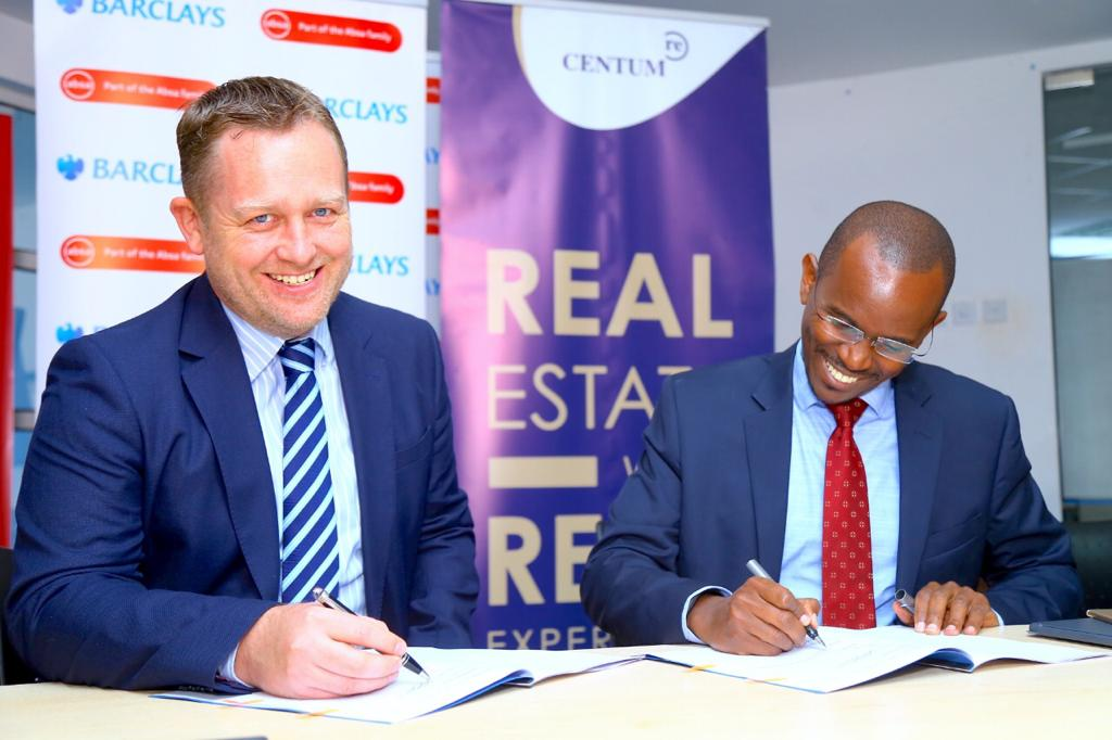 Barclays partners with Centum to finance home buyers