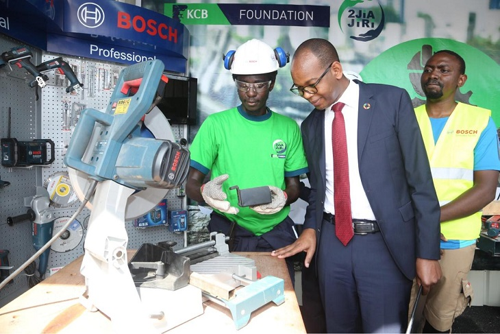 KCB's 2jiajiri programme firms up hope for the youth