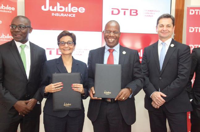 Diamond trust bank partners with Jubilee insurance