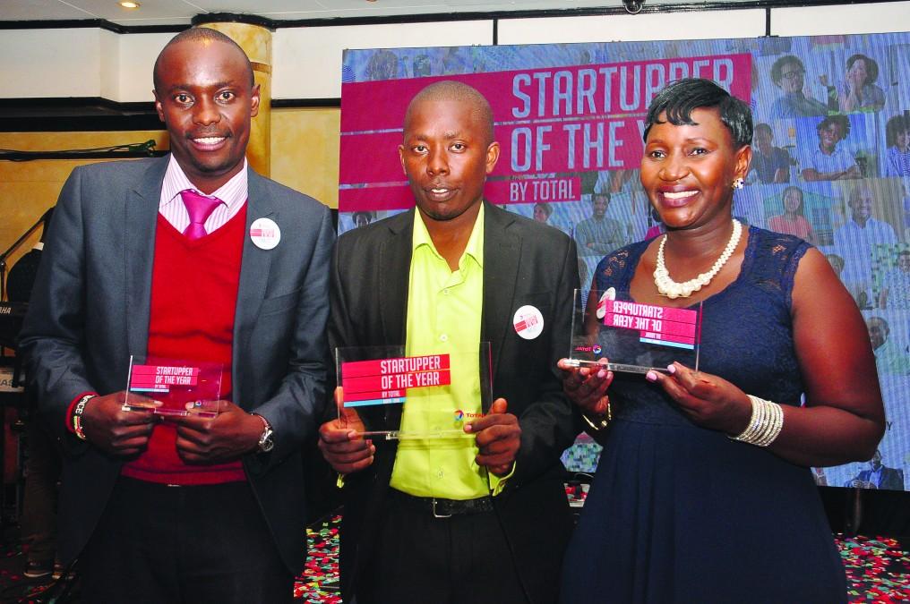 Young entrepreneurs having a good year