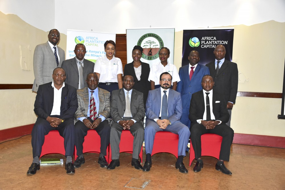 Africa Plantation Capital inks MoU with Kefri for natural resources conservation