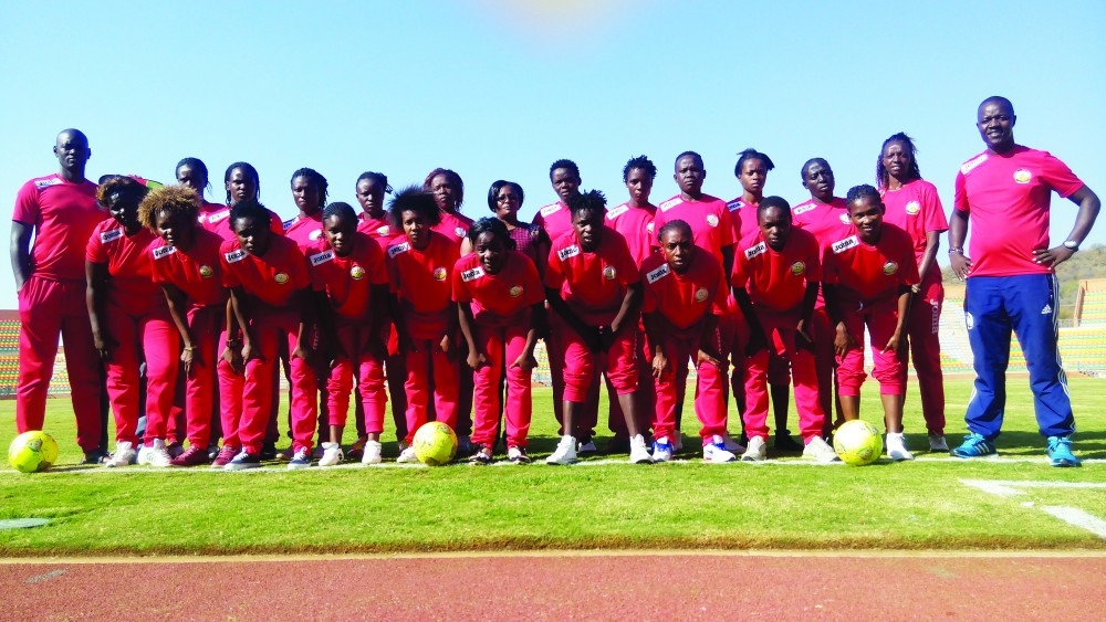 The journey for maiden appearance at AWCON begins for Harambee Starlets