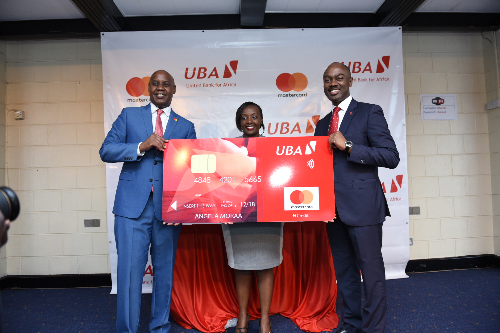 UBA partners with Mastercard to displace cash with electronic payment