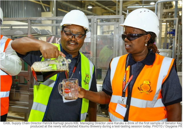 It is all systems go for Sh15bn Kisumu brewery