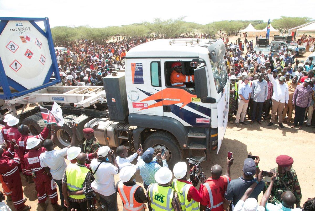 Turkana oil wealth…