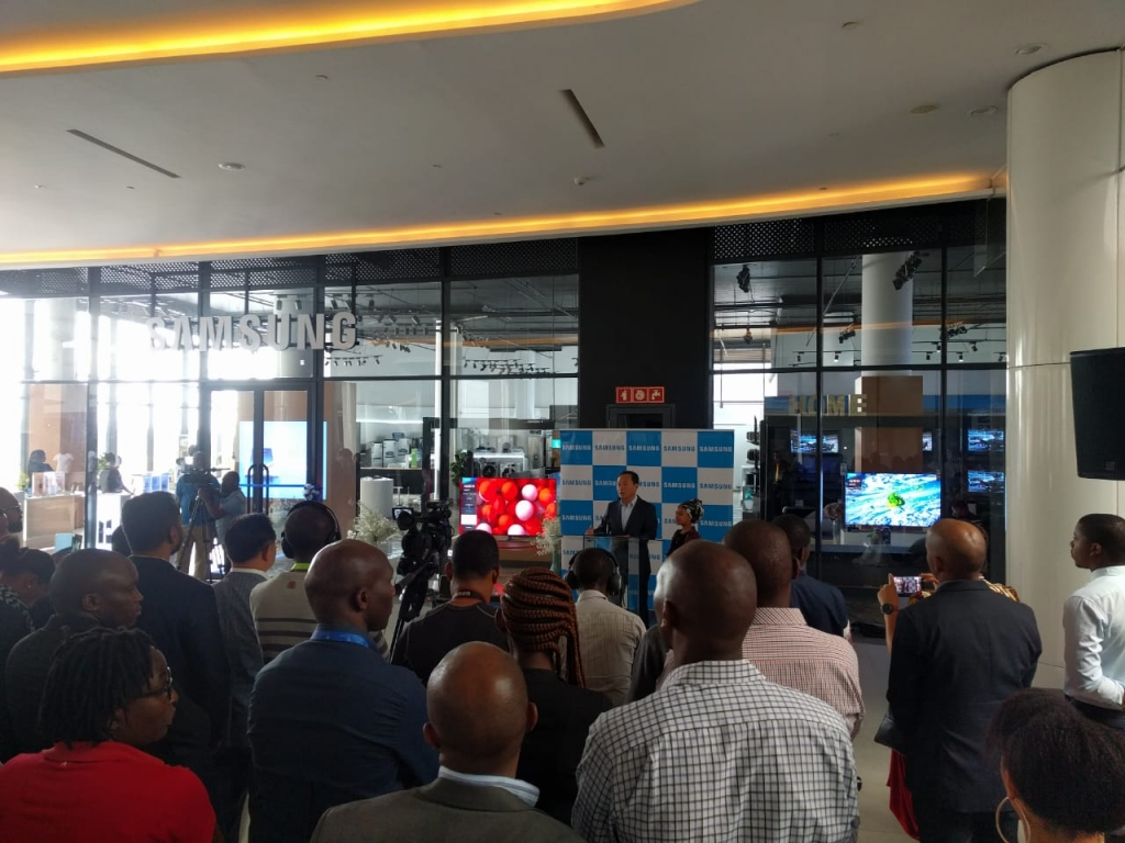 Samsung opens largest retail store in Africa at Two Rivers Mall