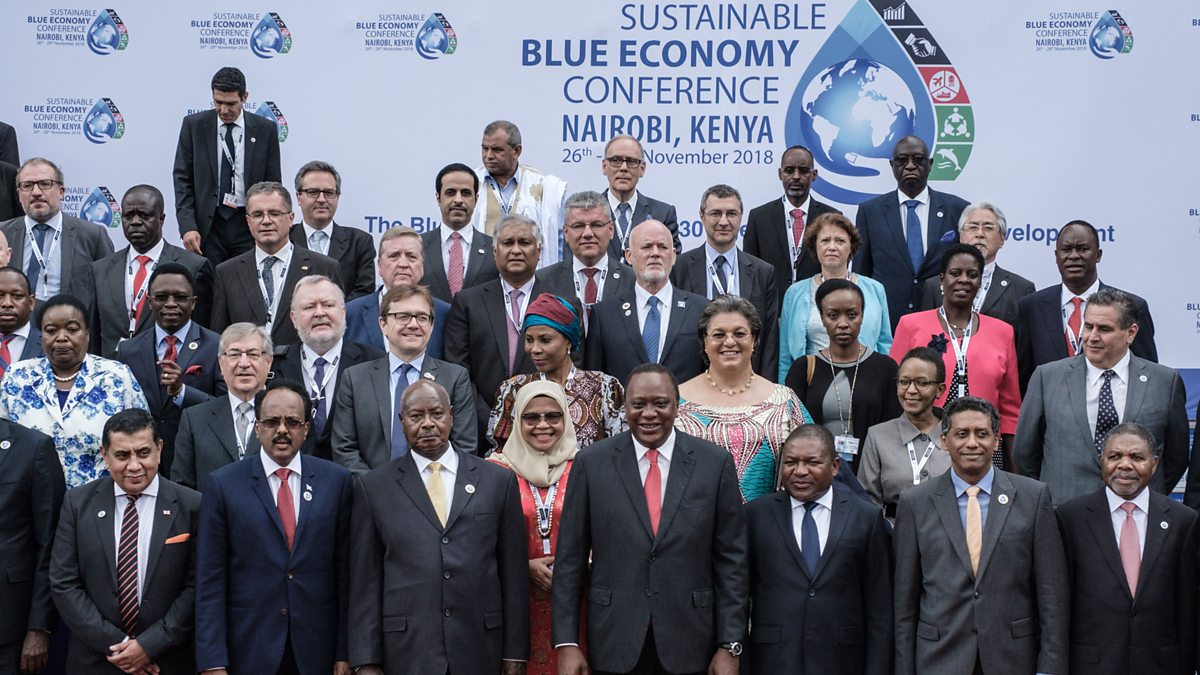 Blue Economy Conference; flowery speeches, little action