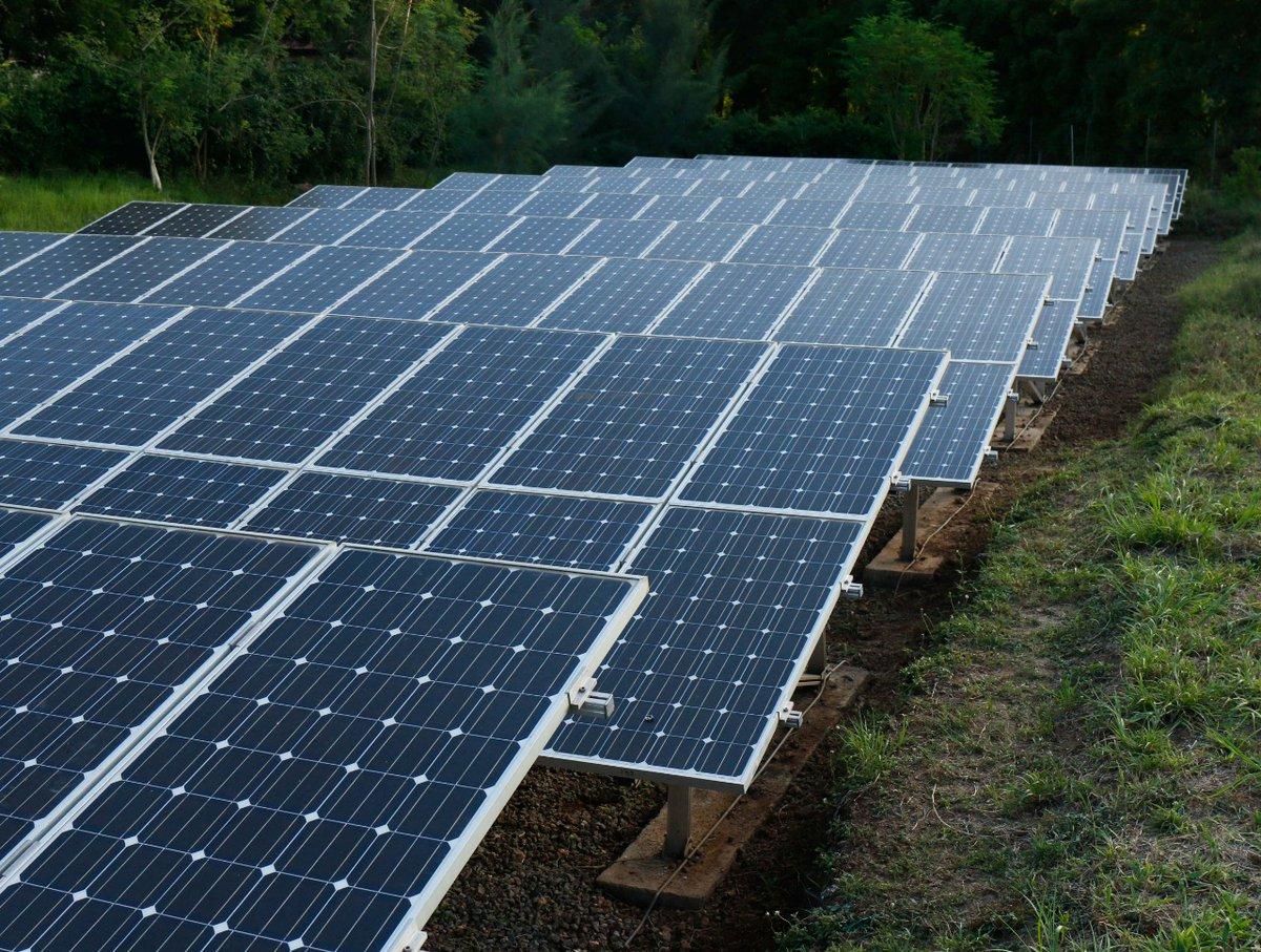 Children's Village solar is refurbished