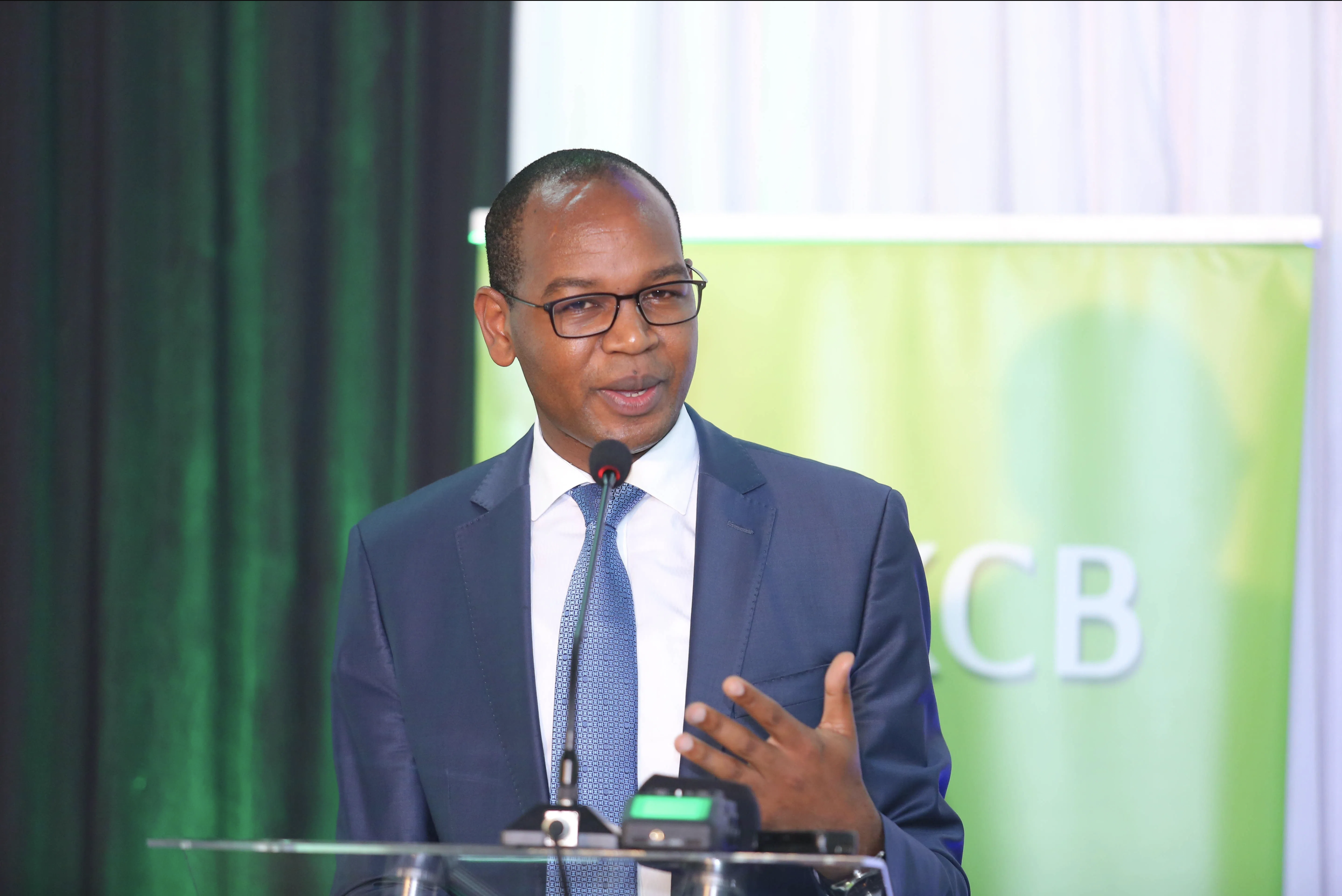 It is a tumble for KCB'S mid year profits