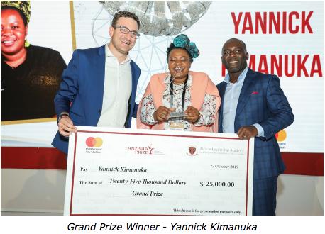Young Congolese entrepreneur wins 2019 Anzisha Prize