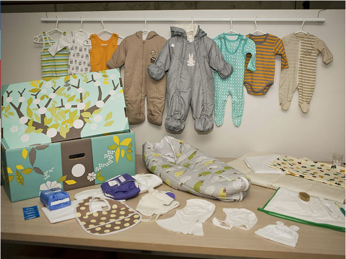 For 82 years Finland has been giving out a 'Starter Kit' for new parents
