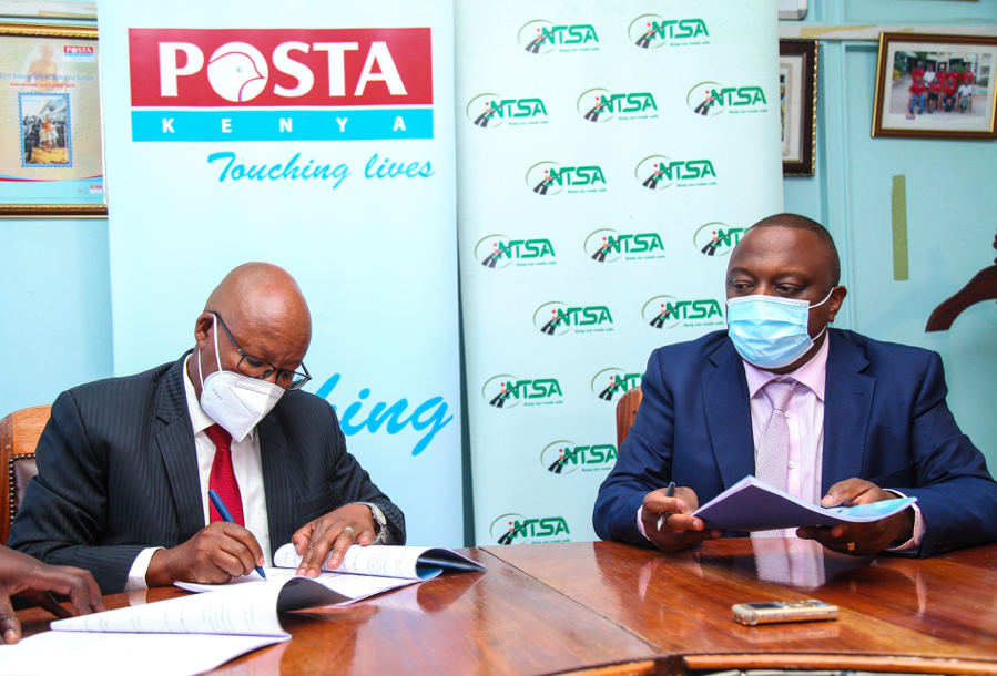 Posta and NTSA ink deal in response to fast-changing consumer needs
