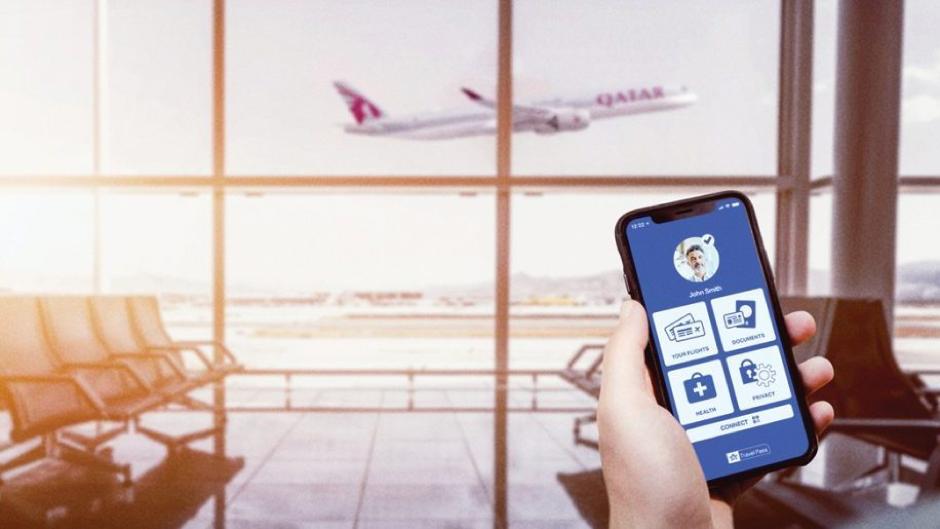 Ethiopian airlines test the IATA travel pass